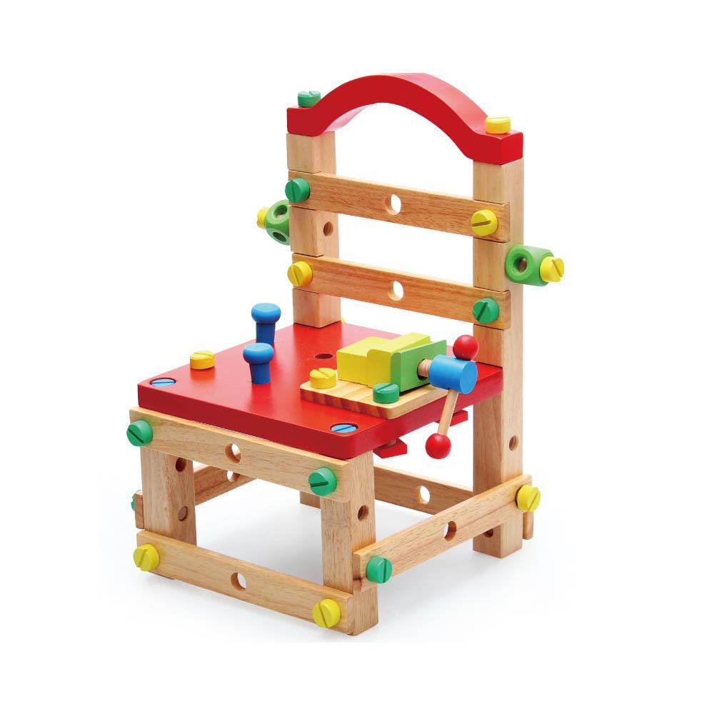 Amuzinc酷比樂 木頭玩具 木製多功能工作椅