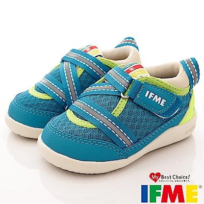 IFME健康機能鞋 輕量包覆學步款 EI00066 淺藍 (寶寶段)