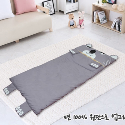 韓國熱銷卡通動物睡袋熊熊