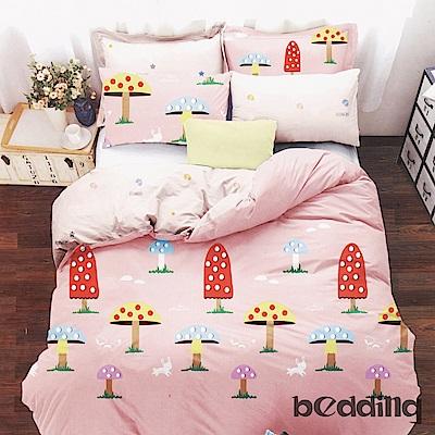 BEDDING-柔絲絨3.5尺單人薄床包涼被組(多款)