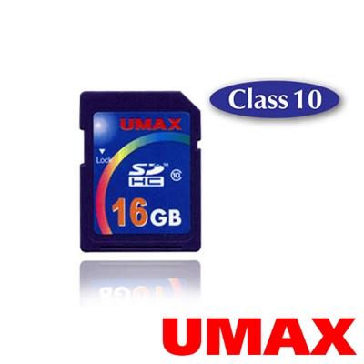 UMAX SDHC 16GB Class10 記憶卡