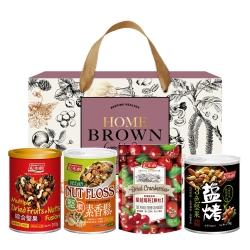紅布朗 人氣堅果玫瑰禮盒