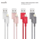 Moshi Integra Lightning to USB-A 編織傳輸充電線