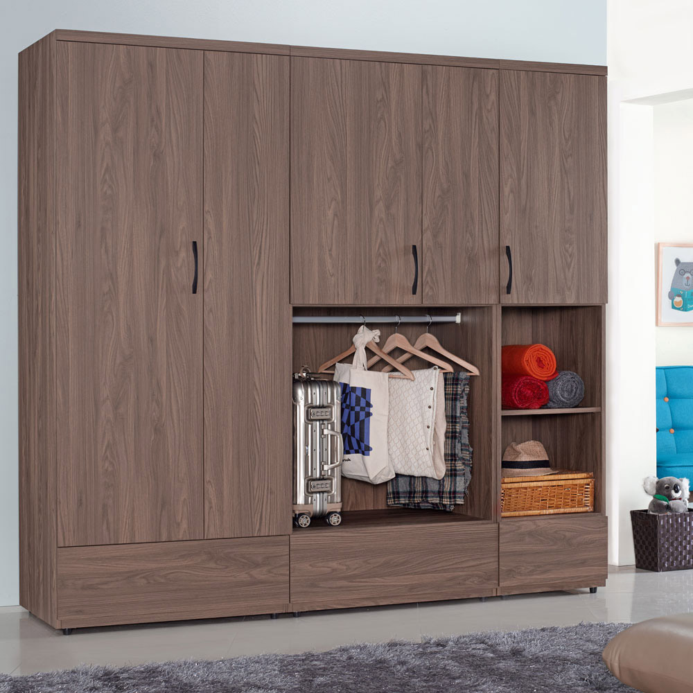 Homelike 克拉7x7衣櫃 208x57x203 cm