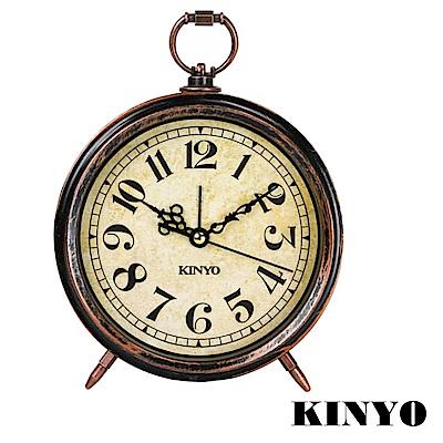 KINYO 懷舊風大型靜音掃描鬧鐘(TB-703)