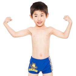 Aquanaut奧可那泳裝 可愛大熊印圖泳褲