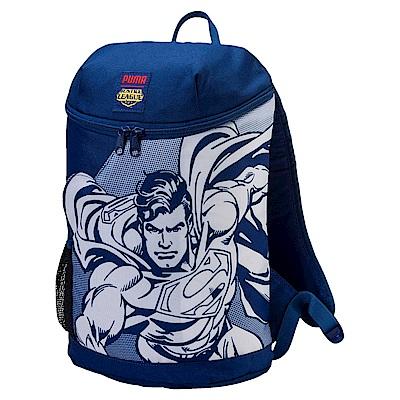 PUMA-孩童正義聯盟後背包-藍色