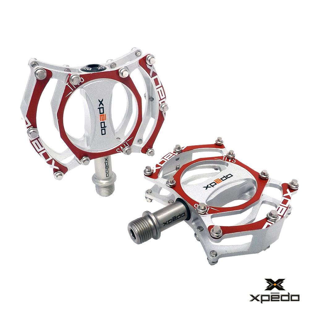 XPEDO CF07 鋁合金腳踏 紅
