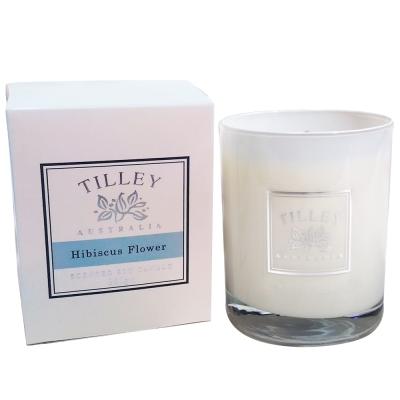Tilley百年特莉 芙蓉花香氛大豆蠟燭240g