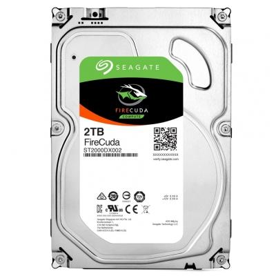 Seagate火梭魚FireCuda 2TB+8G SSD 3.5吋固態混合硬碟