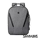 SAMMONS 丹尼爾商務筆電後背包 都會灰