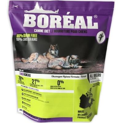 加拿大BOREAL-《無穀波爾羔羊》犬糧 8.8磅(3.99kg)