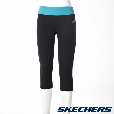 SKECHERS 女緊身半長褲 - GWPCP165BLK