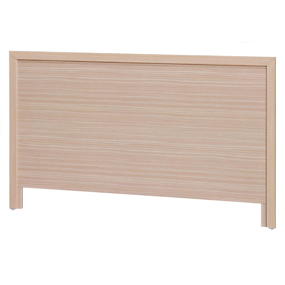 品家居 伯萊克3.5尺木紋單人床頭片(六色可選)-105x2x89cm免組