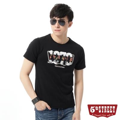 5th-STREET-T恤-夏日微風短袖T恤-男