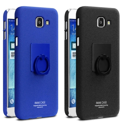 Imak SAMSUNG Galaxy A8(2016)創意支架牛仔殼