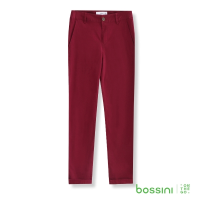 bossini女裝-彈力修身褲05酒紅