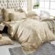 義大利La Belle 雙人天絲防蹣抗菌吸濕排汗兩用被床罩組-閒情雅緻 product thumbnail 1