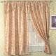 芸佳-米蘭三層窗簾195-165-米黃