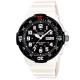 CASIO 潛水風DIVER LOOK指針錶(MRW-200HC-7B)-白/黑面/44.6mm product thumbnail 1