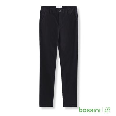 bossini女裝-彈力修身褲05黑