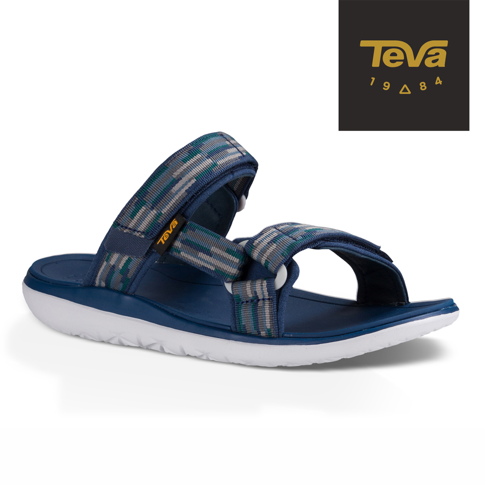 TEVA 美國 男 Terra-Float Slide 休閒拖鞋 (海軍藍)
