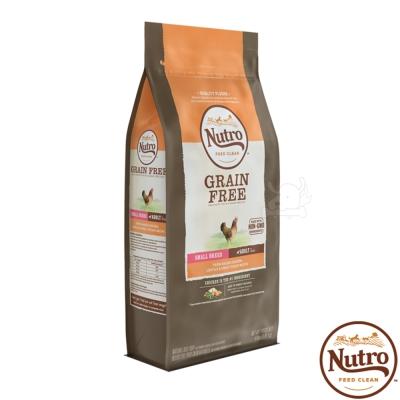 【Nutro 美士】低敏無穀 小型 成犬糧(農場鮮雞+扁豆+地瓜)4磅 X1包