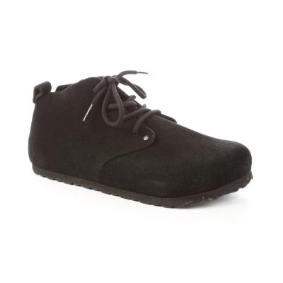 勃肯BIRKENSTOCK 692831。鄧迪 長筒休閒鞋(黑)