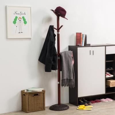 TZUMii 華麗金屬環衣帽架-34.3*34.3*172.7cm