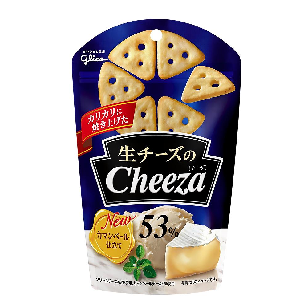 Glico格力高 Cheeza卡蒙貝爾起司脆餅(40g)