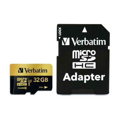 Verbatim 威寶 32GB microSDHC PRO+ UHS-I U3高速記憶卡