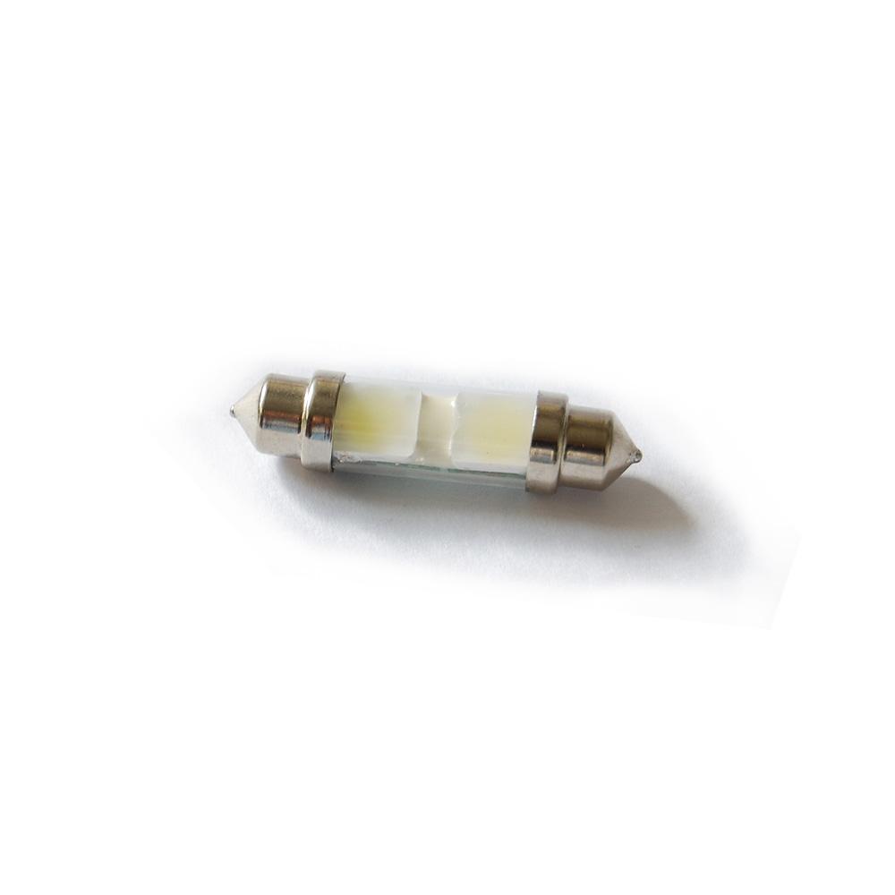 嘉燈 高亮度面發光LED雙尖型車牌燈室內燈-41mm