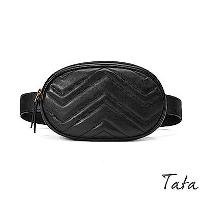 合成皮腰包(配腰帶) 共二色 TATA