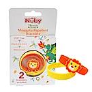 Nuby 防蚊手環(2入)-獅子(0M+)