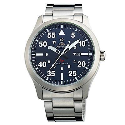 ORIENT SP系列前衛巔峰石英腕錶(FUNG2001D0)-藍/42mm