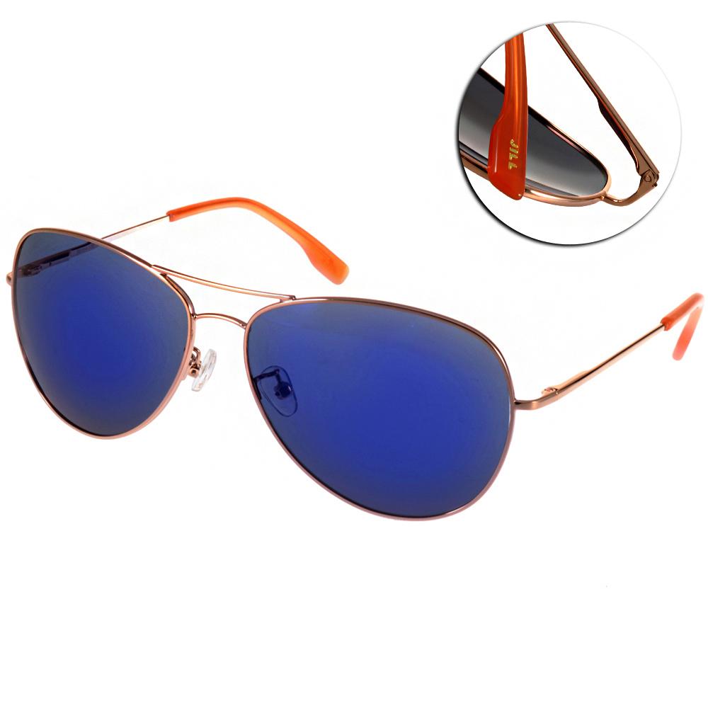 JILL STUART太陽眼鏡 飛官水銀鏡面款/金-藍#JS10002X C02P