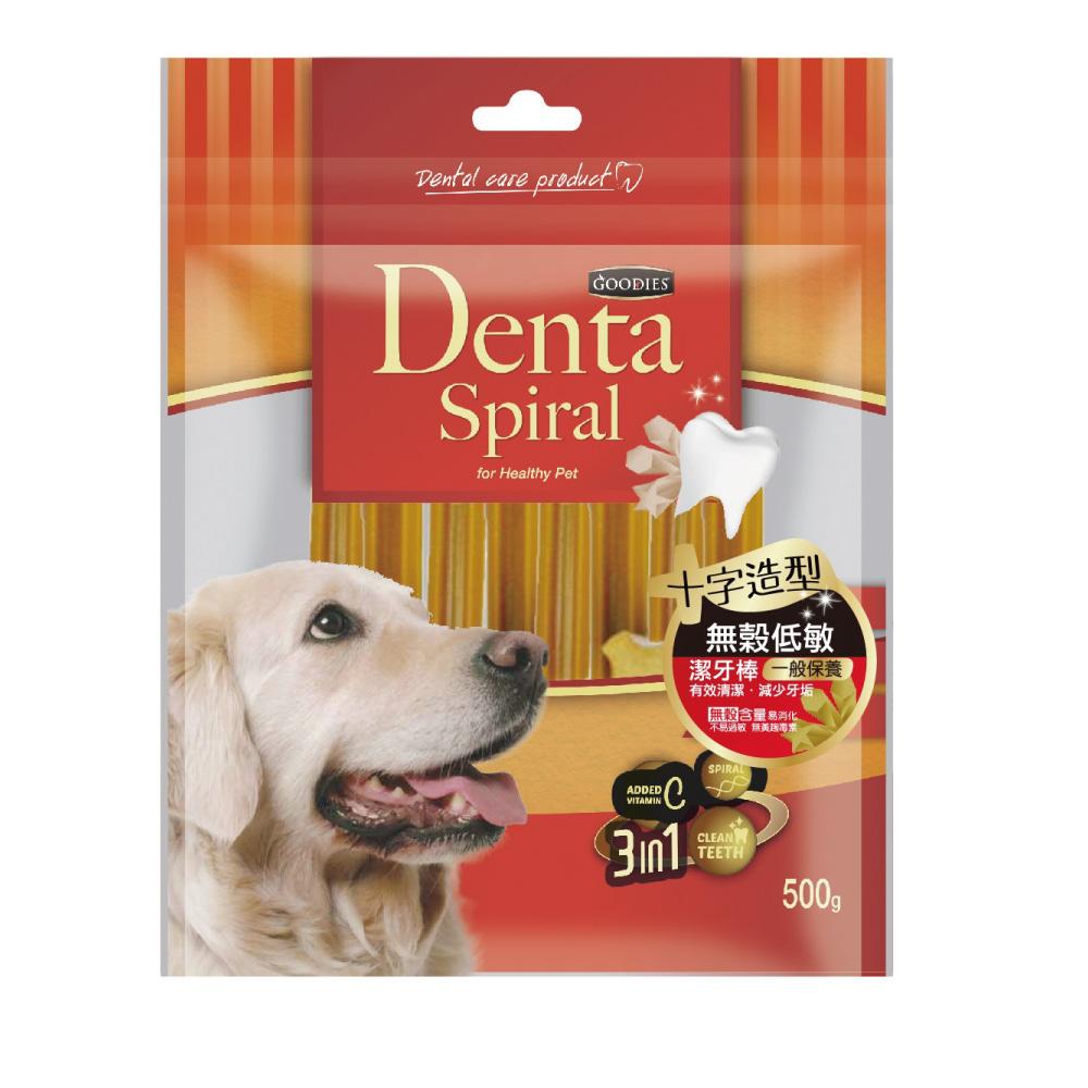 寵愛物語-Denta Spiral無穀低敏潔牙棒 十字造型500g
