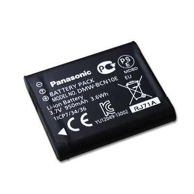 Panasonic DMW-BCN10 / BCN10 適用相機電池(全新密封包裝)