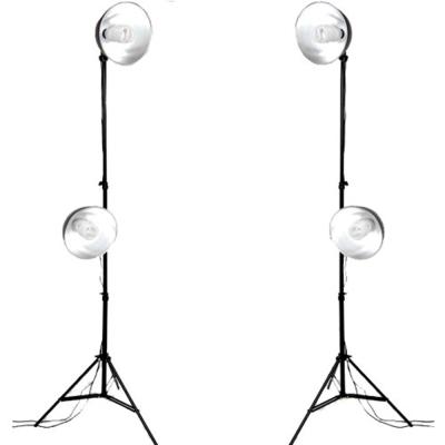 10.6吋50w四燈上下專業攝影燈高度可調77-220cm