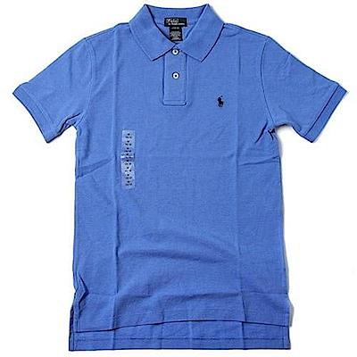 Ralph Lauren 短袖 POLO 素面 小孩 藍 0746 @ Y!購物