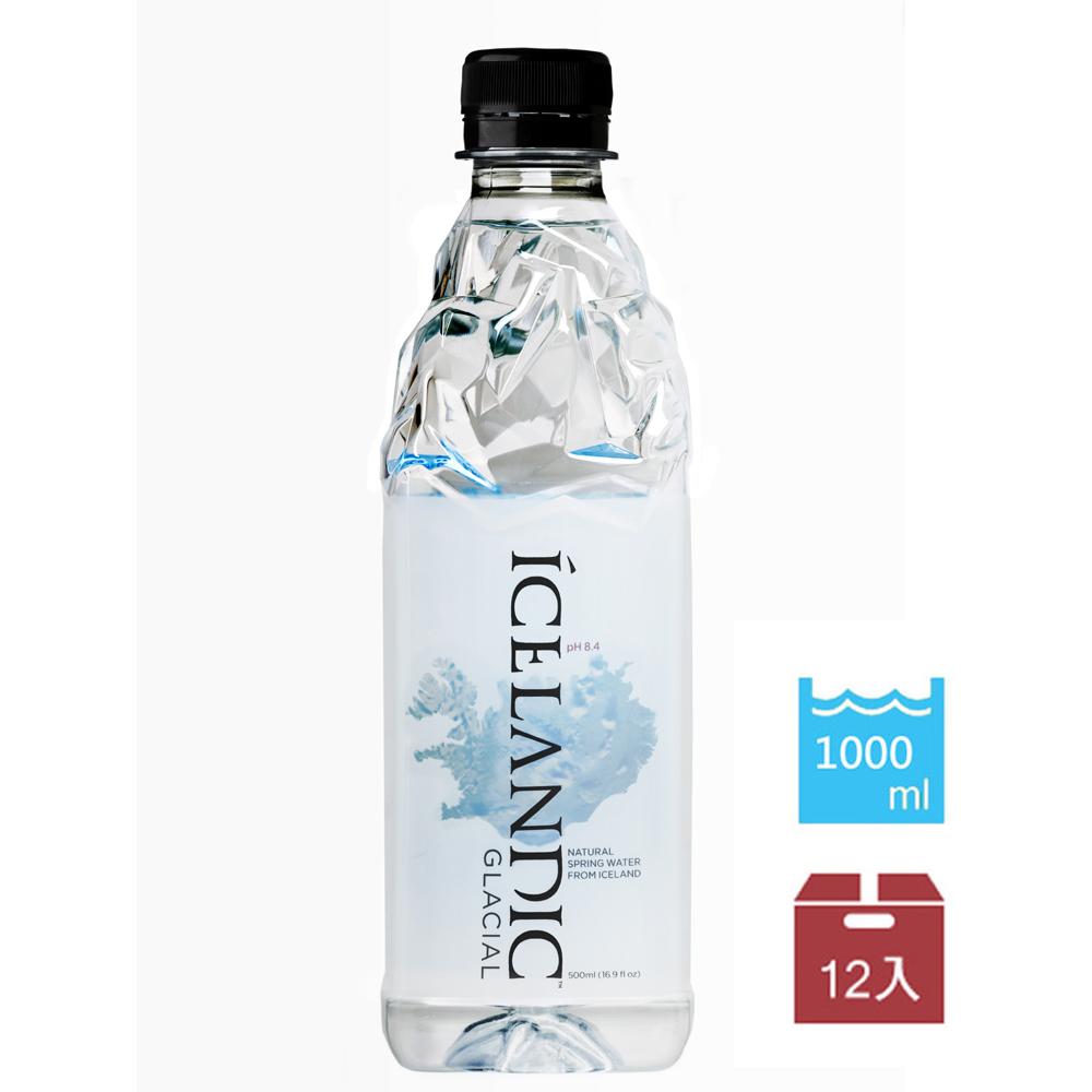 I.W冰島 冰川礦泉水(1Lx12入)