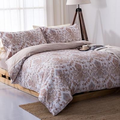 COOZICASA夢想旅行 雙人四件式吸濕排汗天絲兩用被床包組