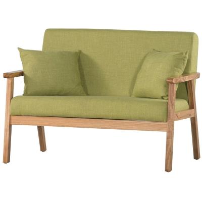 沙發 雙人座 艾黛娜 實木布沙發 品家居