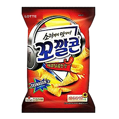 LOTTE樂天 玉米脆角-辣味(77g)