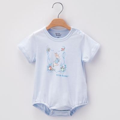 奇哥-花園兔包屁衣-藍色-3-18個月