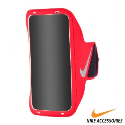 NIKE 輕量手機萬用臂包 (紅/銀)