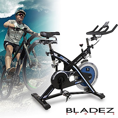 【BLADEZ】H9173E-ZS600飛輪健身車
