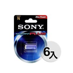 SONY LR1 N Size (N-LR1) 高效能5號鹼性電池1.5V(6入)