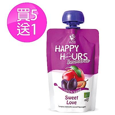 【Happy Hour】佑爾康金貝親有機纖果飲6包(蘋果/洋棗)
