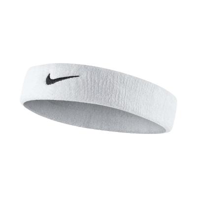 Nike 頭帶 Swoosh HeadBand 運動 白 黑